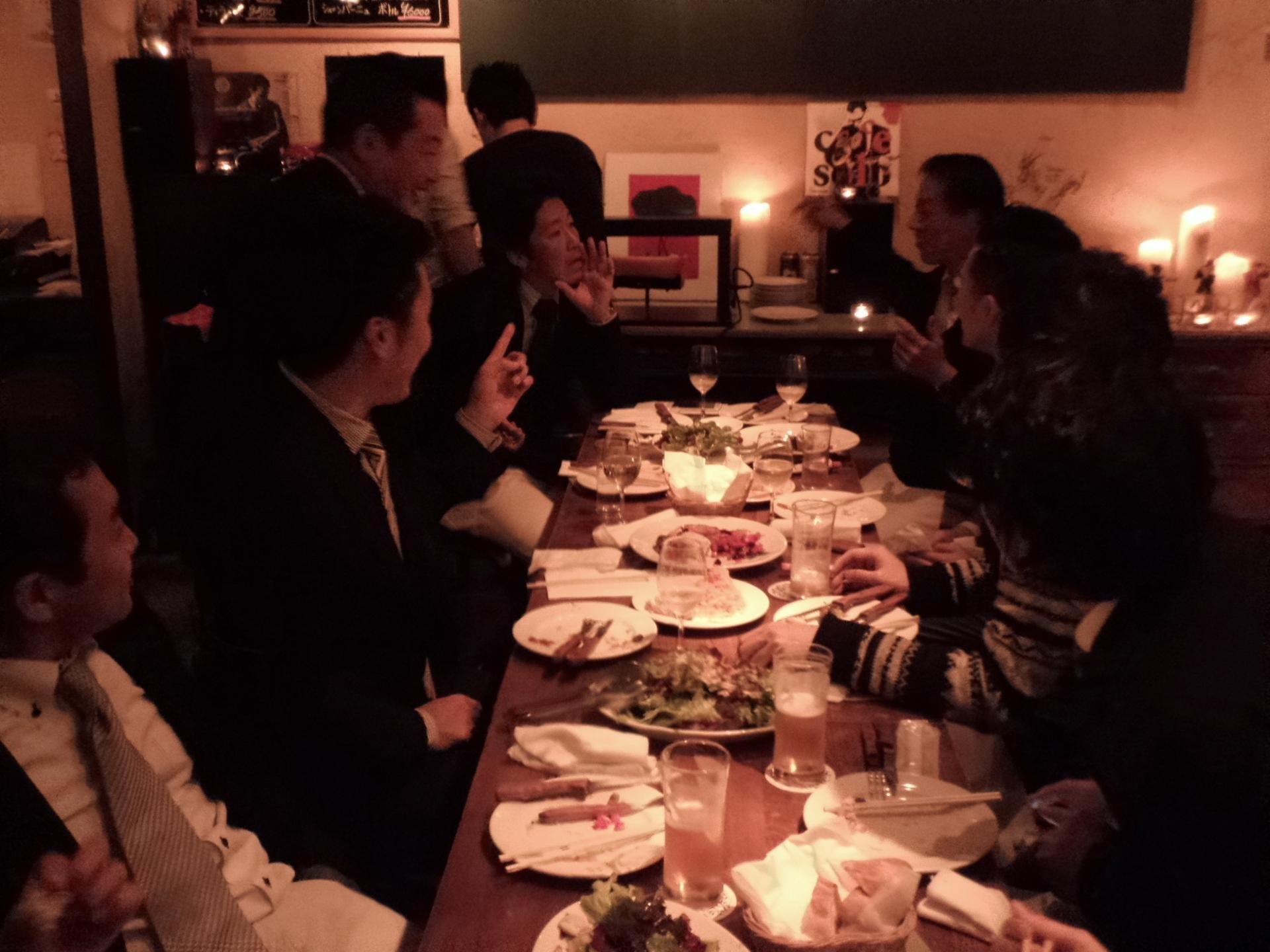 今年も新年早々・・・丸安毛糸の新年会!