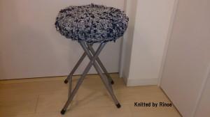 かぎ針で編んだ椅子カバー