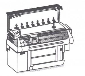 横編み 機械