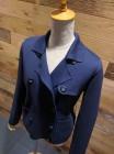 清涼感のある糸で素敵なニットジャケットを シルケット加工糸製品の提案