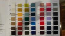秋冬ニットに評判のバルーンが新しく色数が増えて完成です